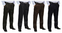 "Mens Big Size Smart Casual Cord/Corduroy Trousers/Pants Waist 32""-62"" Leg 29""31"""