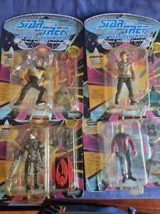 Star Trek The Next Generation -Space the Final Frontier Action Figures