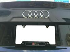License Plate Frame for S LINE Gloss Black Audi RS4 RS5 RS7 S4 S5 S6 S7 TT A6 Q7