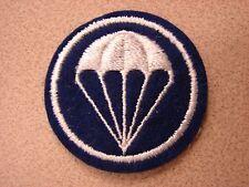 Original WW2 US Army 11th Airborne Paratroop Overseas Cap Round Blue Chute Patch
