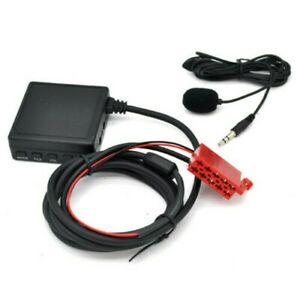 For Mercedes W124 W140 W210 BE2210 BE1650,Bluetooth Adapter Handfree USB SD Aux