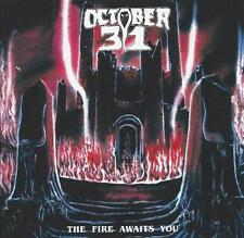 October 31 - The Fire Awaits You CD 2013 reissue bonus tracks traditional metal