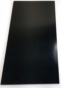 "Black XX Paper Phenolic Micarta (1) .375"" x 6"" x 12"" Knife Material Sheet"