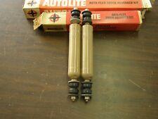 NOS Autolite Shocks 1949 1957 Pontiac Olds55 Studebaker 1956 1955 1954 1953 1952