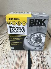 BRK 7010BSL Smoke & Strobe Combo Photoelectric Smoke Alarm Hardwire W/backup