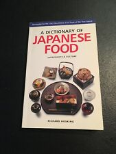 A Dictionary of Japanese Food : Ingredients and Culture by Richard Hosking...