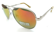 NEW women's JUICY COUTURE aviator gold mirror lens sunglasses