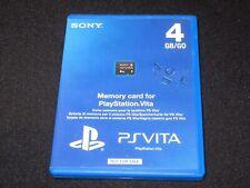 PlayStation PS Vita - 4GB MEMORY CARD BOX - PROMO/DISPLAY Box / Case Only
