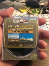 Hoya HMC 58mm Circular Polarizer CPL Digital Lens Filter