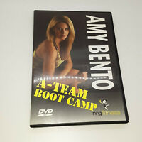 A Team Boot Camp Amy Bento DVD 2007 Exercise Workout Fitness At-Home Advanced