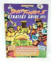 Street Fighter II 2 GamePro Strategy Game Guide Super Nintendo