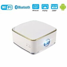 DLP Mini Home Theater Projectors LED WiFi 1080P For iphone Android Tablet