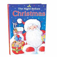 Christmas Padded Hardback Childrens Book - The Night Before Christmas