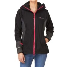 BERGHAUS ANNIKA AQ2 BLACK WATERPROOF JACKET SIZE 8 RRP £185