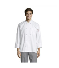 0402 Uncommon Threads Chef Coat White Size Varies