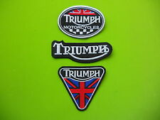 TRIUMPH KIT 3 PATCH TOPPE RICAMATE TERMOADESIVE -Replica