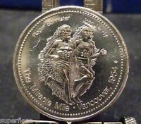 1978 Edmonton Commonwealth commemorative medal Roger Bannister miracle mile