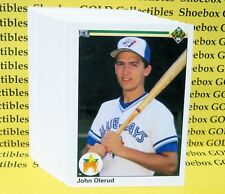 1990 Upper Deck Baseball 50-Card Lot, High Grade (Olerud, Maas Rookie Cards)