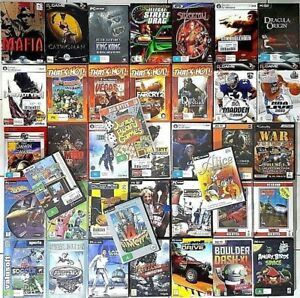 PC Games *NEW / SEALED : Select Your Titles - FREE POST
