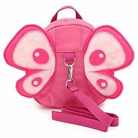 BTSKY Baby Butterfly with Wings Walking Safety Harness Reins Toddler Child Kid S