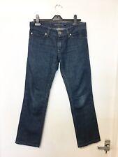 "Massimo Dutti Indigo Jeans blue denim Skinny UK8  L28""  W 32"" Size 27 (AE)"