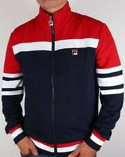 FILA Vintage Vilas Track Jacket in Navy Red White - Court Courto Track Top Dyer 3xl