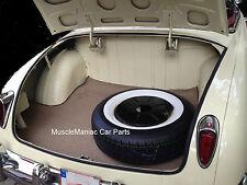 1948-1951 Hudson Convertible TRUNK MAT TanTweed Mat on Tar/Felt  48 49 50 51
