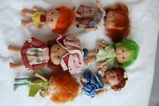 Vintage Strawberry Shortcake Dolls and Accessories 1980s Pvc Figures