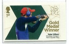 2012 GB Olympics Gold Medal Shooting, Menms Double Trap. Peter Wilson. SG 3345