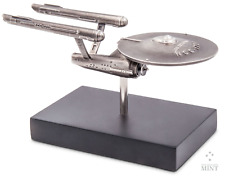 Star Trek Astronave Enterprise NCC-1701 Miniatura Escultura Plata 2018