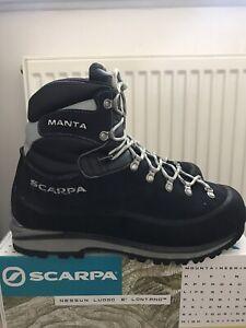 Scarpa Men's MANTA Boots Size UK 10.5 Or 45 EU