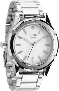 Nixon A343100 Camden White Diamond Dial Unisex Watch