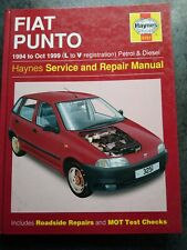 Haynes Manual 3251 Fiat Punto 1994 to Oct 1999 Petrol & Diesel