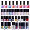 BORN PRETTY Nail Polish Varnish Multicolor and Capacity for Glitter Nail Art
