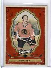 BOBBY HULL 09/10 CHAMPS CHAMP'S *RED* Rainbow *SP* #25 Parallel Hockey Card