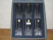 JG J.G. DURAND *NEW* ESTEREL Set 6 Verres Longdrink Glasses