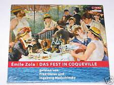 The Fixed in Coqueville Audiobook CD NEW Emile Zola (e99)