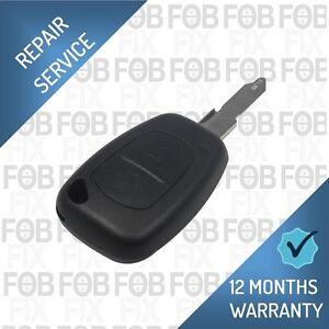 Movano Vivaro Master Traffic Primastar Remote Key Fob Repair Fix Service