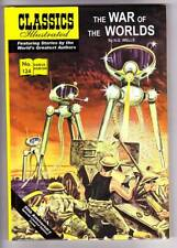 Hardback edition H.G. Wells CLASSICS ILLUSTRATED THE WAR OF THE WORLDS - OP