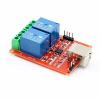 2 Channel 5V USB Relay Board Module Computer PC Smart Control Switch Controller