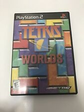 Tetris Worlds PS2 Black Label - COMPLETE TESTED