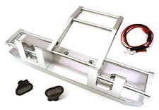 C27117SILVER Integy F Bumper w/ LED for Tamiya 1/14 King Hauler & Globe Liner