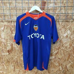 Valencia Nike Away Shirt 2005/2006 - M MEDIUM - Camiseta Kit Jersey Top