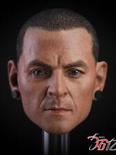 Pre-order 1/6 Linkin Park Chester Bennington Head Sculpt R.I.P.
