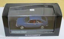 Minichamps 1/43 Alfa Romeo Alfasud 1972 blue azzuro le mans