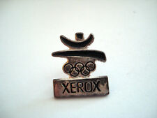 PINS VINTAGE XEROX JEUX OLYMPIQUES OLYMPIC GAMES wxc e