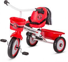 Schwinn Easy-Steer Toddler Beginner Tricycle with Push Steer Handle Wagon Trike