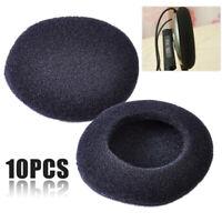 10X 50mm Replace Soft Foam Ear Pads Sponge Cushion Headphone Headset Cover Cap