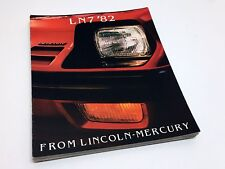 1982 Mercury LN7 Brochure