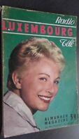 Almanach Revista Radio Tele Luxemburgo 1959 Demuestra